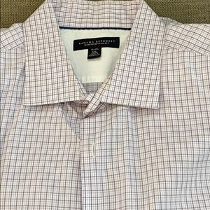 Men's dress shirt size XXL. Banana Republic slim